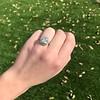 2.85ct Antique Cushion Cut Diamond Halo Ring 32