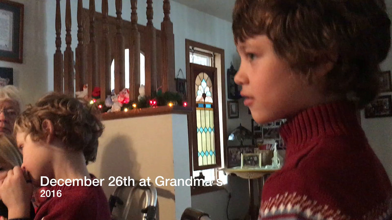 December 26th at Grandma's 2016