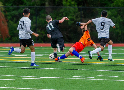 Through half time, Set five: Boys Varsity Soccer v Bridgeport Nisqually Championships 05/15/2019