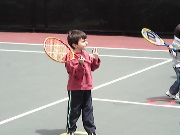 Tennis with Zach