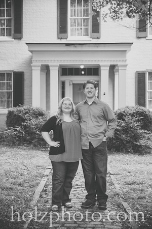 Lindsay & Ben B/W Engagement Photos