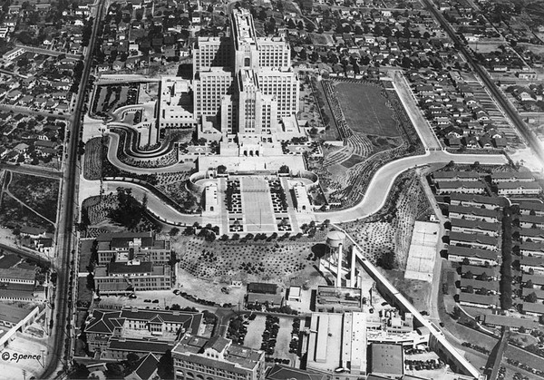 1932, New Hospital Aerial