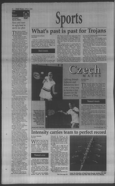 Daily Trojan, Vol. 133, No. 54, April 08, 1998