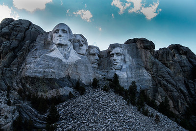 Mount Rushmore and Crazy Horse, South Dakota