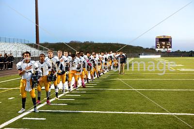 2014-10-10 JFK Football Varsity @ Chaska