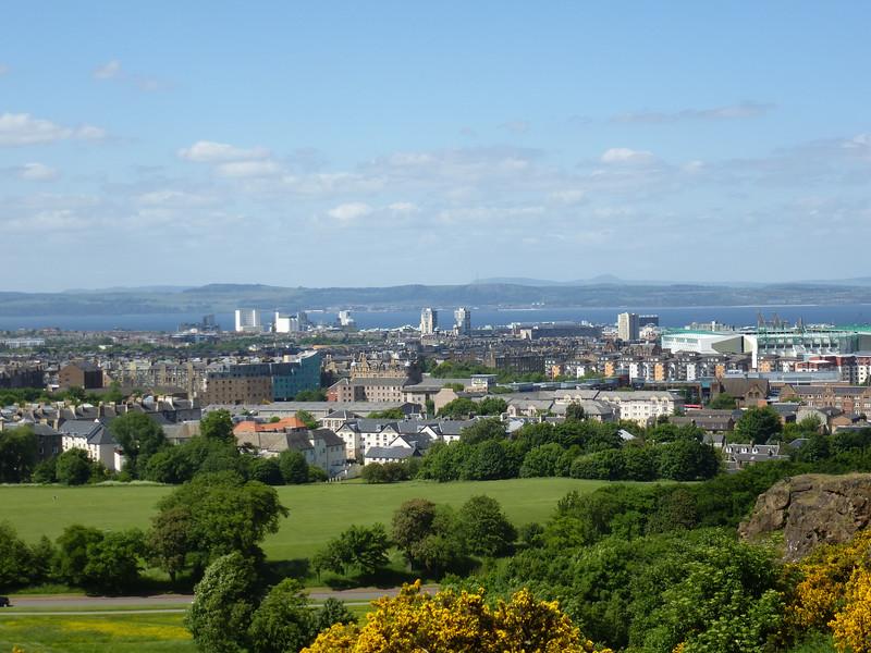 The View of Edinburgh So Far