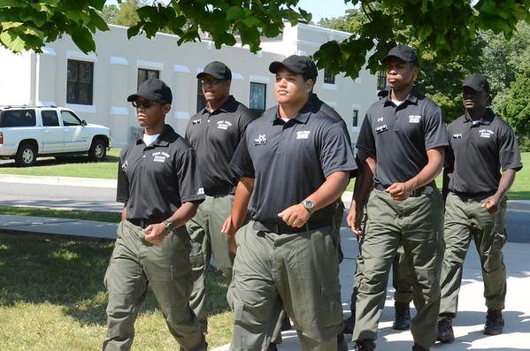 Cadets at Drill