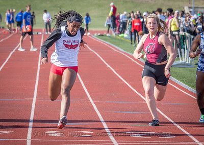 Jerry Crews Inv. 100 Meter Run - Girls