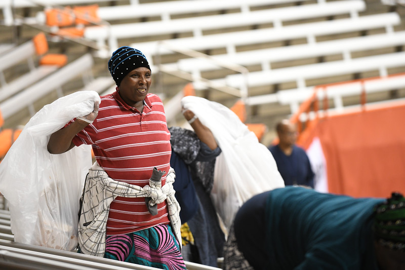 What is the dome? - Sports - Tradition - Orange - The band - Fans - Coaches - Food - Beer - Family - Multiple generational  - Accepting   THINK PEOPLE  Shot list: - Bringing in the dome boards - fans coming in from the Sadler area - Tailgaters - Rival team coming - Cheerleaders - Tight shot of people going into the gates - Basketball court reflection  - Cleaning the dome  Equipment used: - Nikon D5  - Nikon D850 - lens baby - 50 mm - 17-35 mm - 70-200 mm