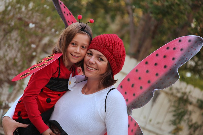 momICA ~ The Lady Bugs... Halloween 2009 ~ Photo by Hubby Greg