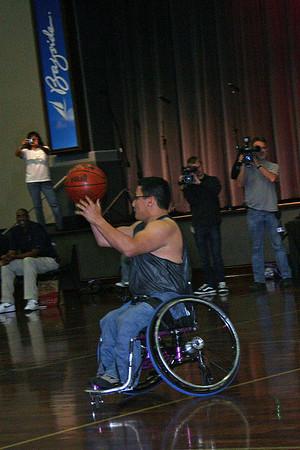 Wheelchair Basketball Game - March 2010