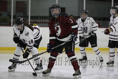 Hockey Worcester Academy at Portsmouth Abbey on 12/1/18