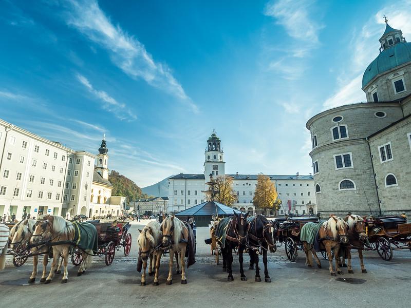 Horse Parking, Salzburg, Austria