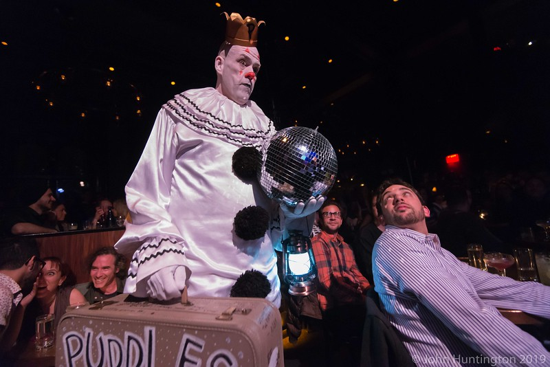 Puddles Pity Party with Bridget Everett and the Tender Moments at Joe's Pub April 29, 2014