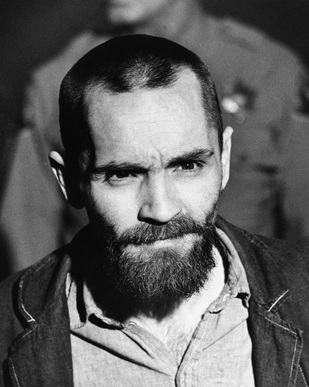 . Convicted mass murderer Charles Manson is shown, 1971.  (AP Photo)