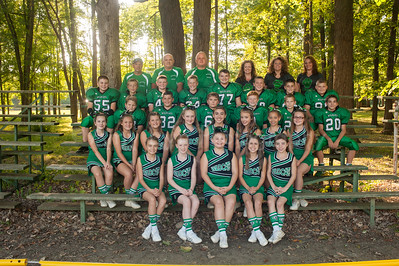 Mogadore Varsity Cheer & Football 2016