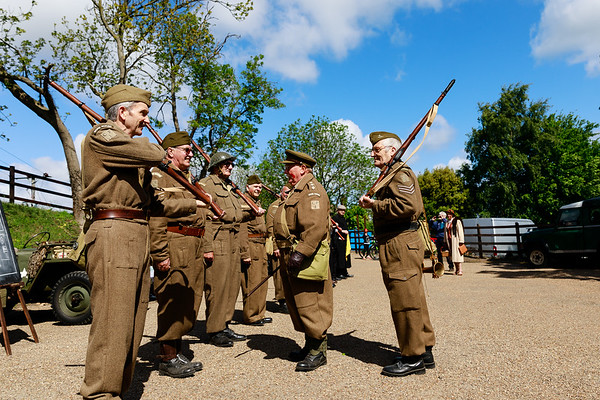 2019 Dad's Army at Weybourne