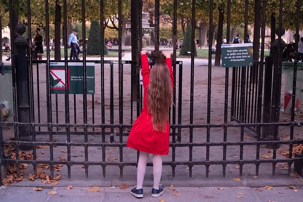 Un après-midi d'automne à  Paris