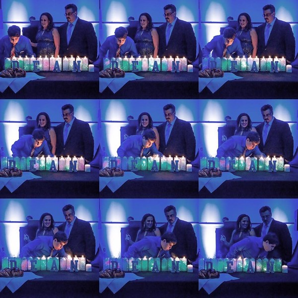 Bar Mitzvah Birthday Candles
