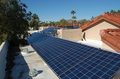 2012, December, Solar Installation