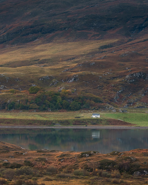 Loch Broom house