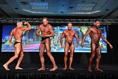 Men's Bodybuilding Masters 60+ Overall
