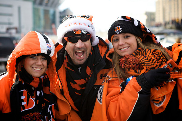 BENGALS vs. JETS WILDCARD PLAYOFF, January 2010