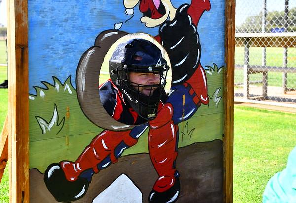 Junior baseball wind-up fun day