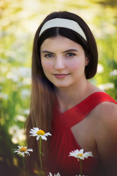 Senior girl - flower field - Lowe Park - Marion - TruYou photography 1.jpg