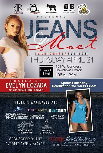 Jeans and Moet 4-21-2011
