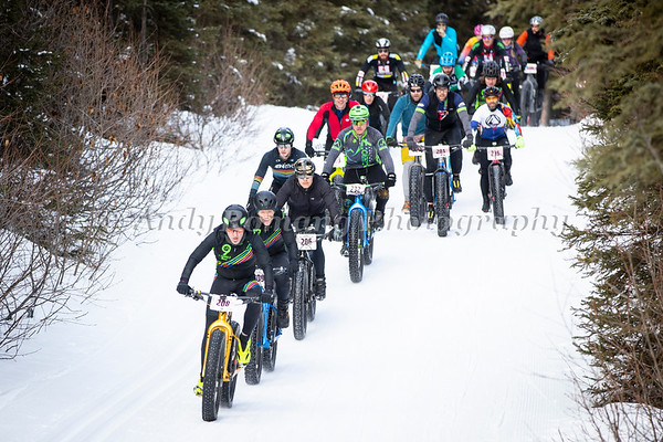 1st Tour of Anchorage Fat Bike Photos by George Stransky