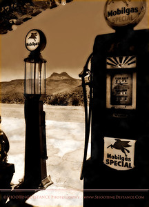 Mobil Gas Pumps, Cool Springs, AZ