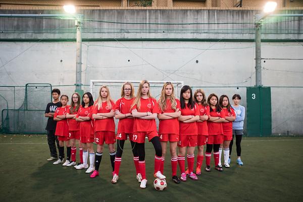 Middle School Girls Soccer