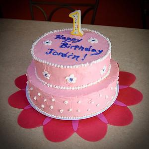 Jordin's 1st Birthday