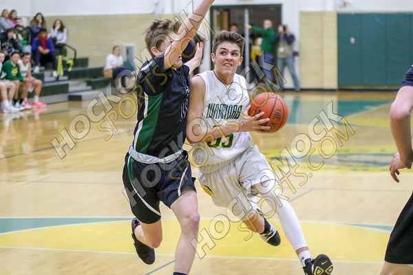 King Philip-Mansfield Boys Basketball - 02-13-19