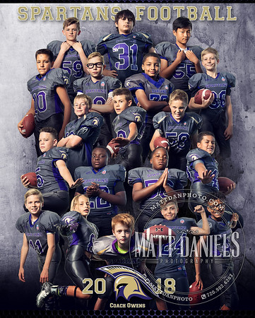 2018 Spartans Youth Football