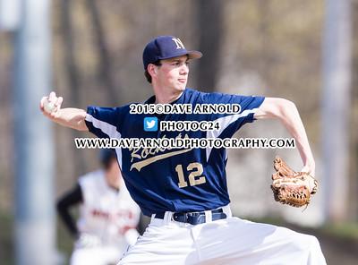 4/29/2015 - Varsity Baseball - Newton North vs Needham