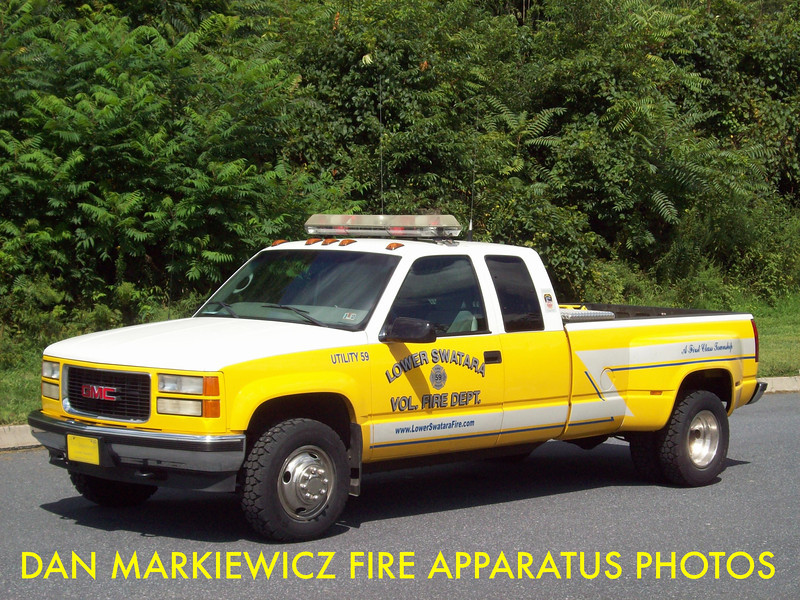 LOWER SWATARA FIRE DEPT. UTILITY 59 2000 GMC P/U