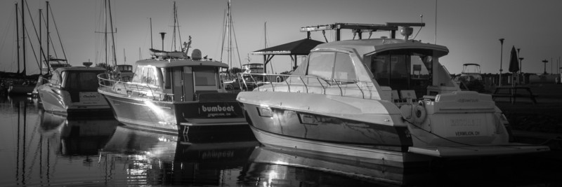 At rest in Port Dover Marina