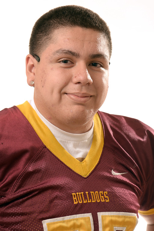 . Chris Fernandez from West Covina High School was selected to the San Gabriel Valley Tribune All-Area football team on Wednesday December 18, 2013.  (Staff Photo by Keith Durflinger/San Gabriel Valley Tribune)