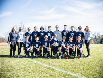 Middle School Boys' Soccer 2019