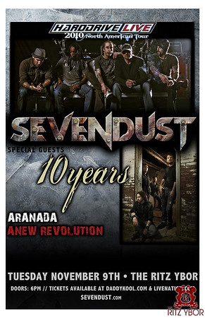 Sevendust / 10 Years November 9, 2010