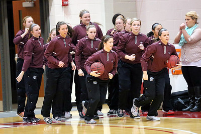 Super Sectional Lady Ducks Vs Kankakee 2-23-2015