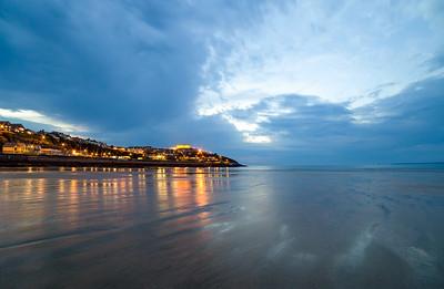 Towan Bay by Night