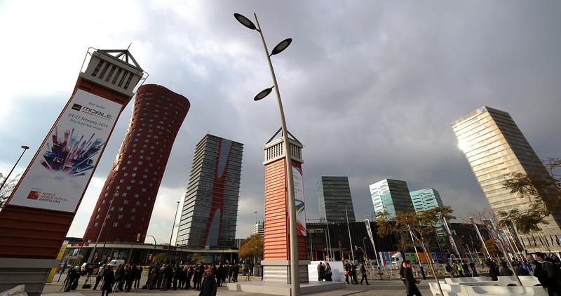 . General view of the 2013 Mobile World Congress in Barcelona on February 24, 2013, a day before its start. The 2013 Mobile World Congress, the world\'s biggest mobile fair, is held from February 25 to February 28 in Barcelona.  LLUIS GENE/AFP/Getty Images