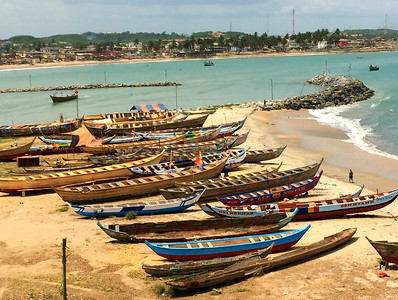 El Mina - Canoes at Rest
