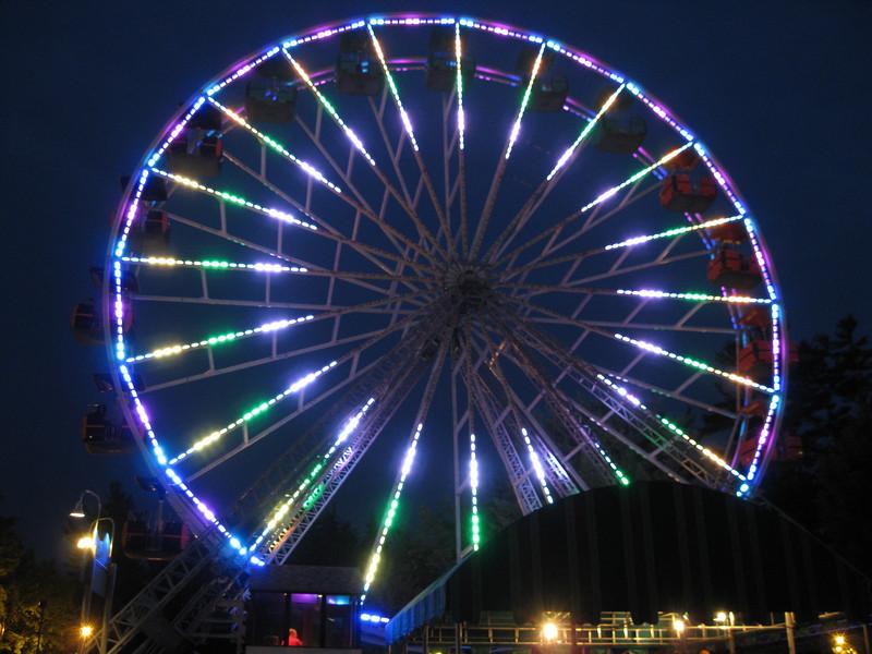 The Giant Sky Wheel's new lights!