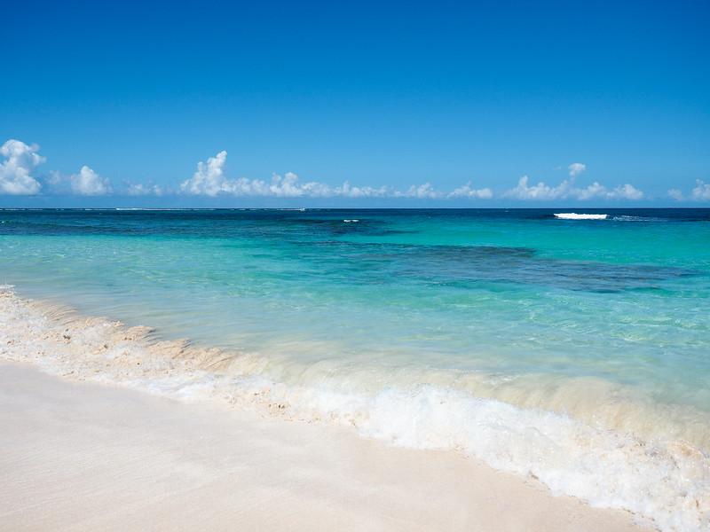 Caribbean waters in Puerto Rico