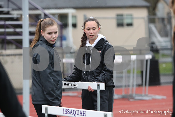 2018-04-04 Issaquah Track & Field vs Skyline vs North Creek