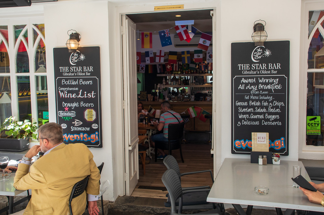 Gibraltar Restaurant and Pub The Star Bar